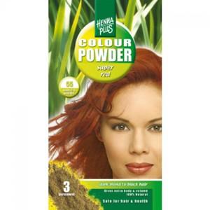 Краска для волос Henna Plus 100g, ярко-красный 55
