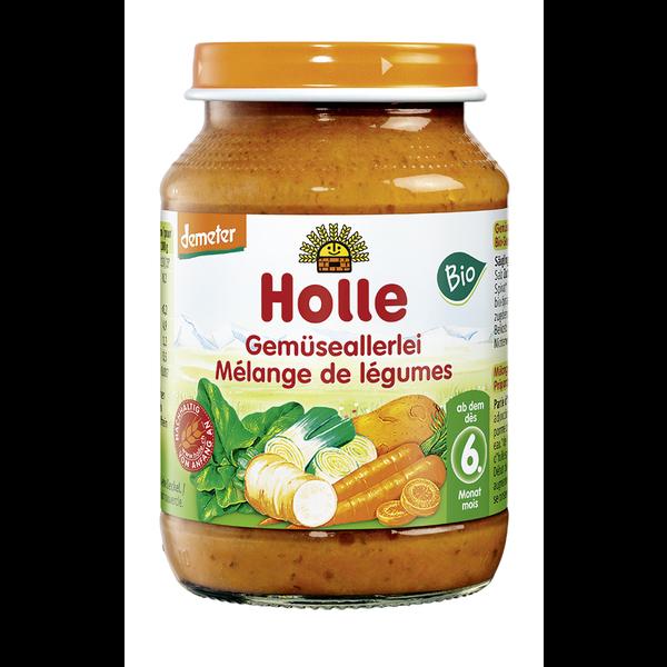 Детское овощное пюре Holle 190g