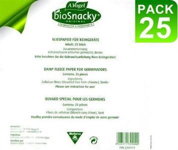 Бумага для проращивания семян Biosnacky