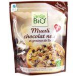 Мюсли с горьким шоколадом и семенами льна JardinBio 375g