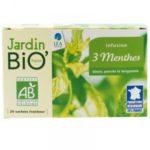 Травяной чай Тройная мята JardinBio 20x1,5g