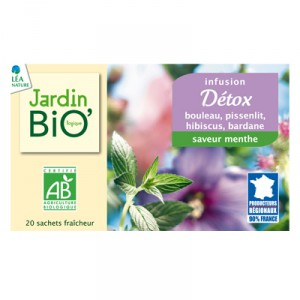 Jardinbio Detox Tea 20x1 5g Looduspere Okopood