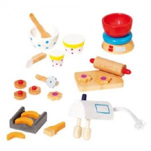 Комплект для кукольной кухни GOKI