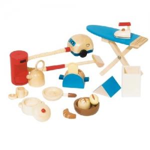 Комплект для уборки для кукольного домика GOKI