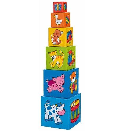 Башня из кубиков Учимся считать GOKI
