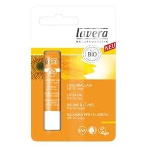 Бальзам для губ солнцезащитный SPF10 Lavera 4,5g
