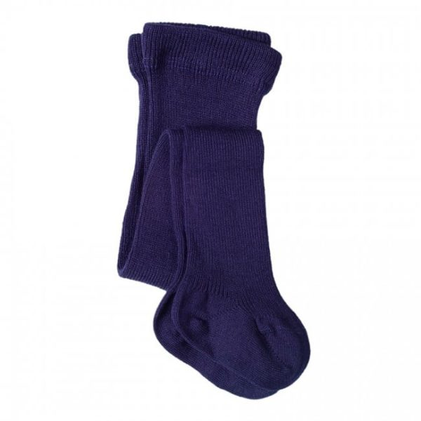 Living Crafts Blue Virgin Wool-Cotton Tights
