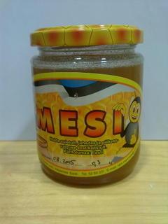 Мед с обножкой, цветочной пыльцой и прополисим Sangaste 300g