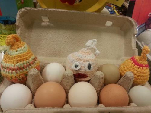 Шапочка на яйцо