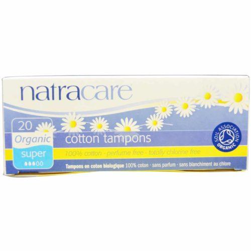 Natracare tampoonid Super 20tk