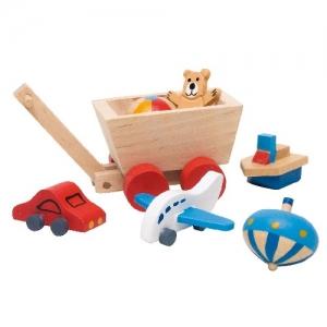 Аксессуары для кукольной детской комнаты GOKI, 7 предметов