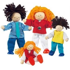Кукольный набор Африканская семья GOKI