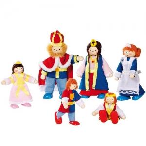 Кукольный набор Королевская семья GOKI 6шт