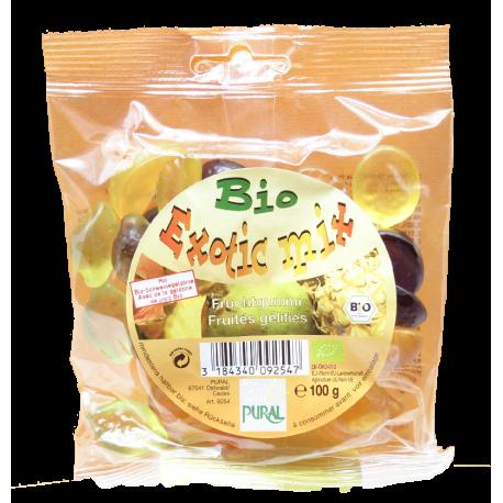 Pural Exotic Mix kummikommid 100g