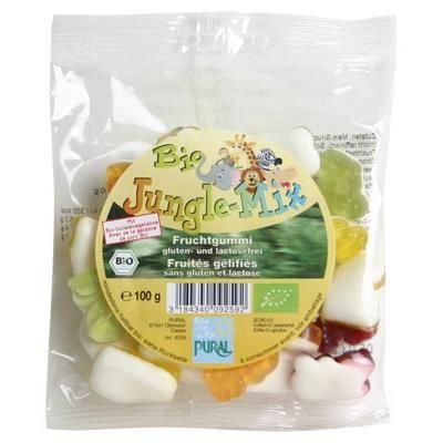 Pural Jungle Mix Jellies 100g