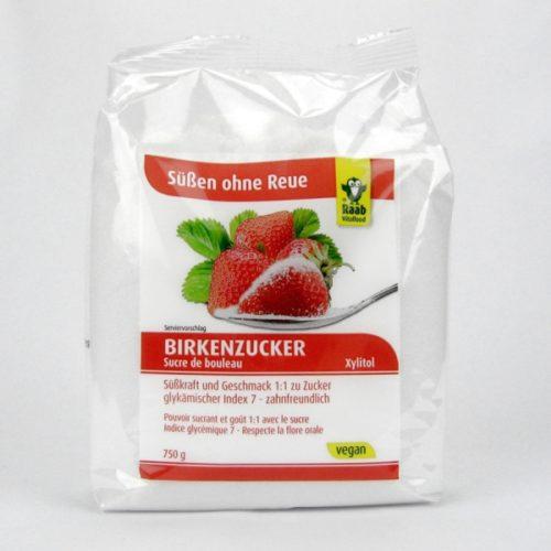 Березовый сахар или ксилитол RAAB 750g