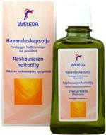 Масло для профилактики растяжек Weleda 100ml