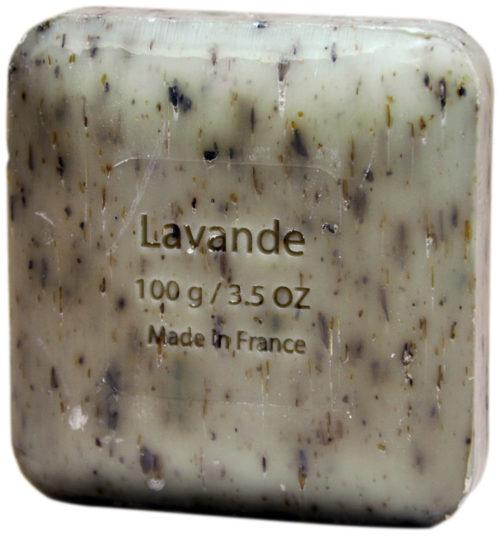 Мыло с  цветами лаванды Savon du Midi 100g