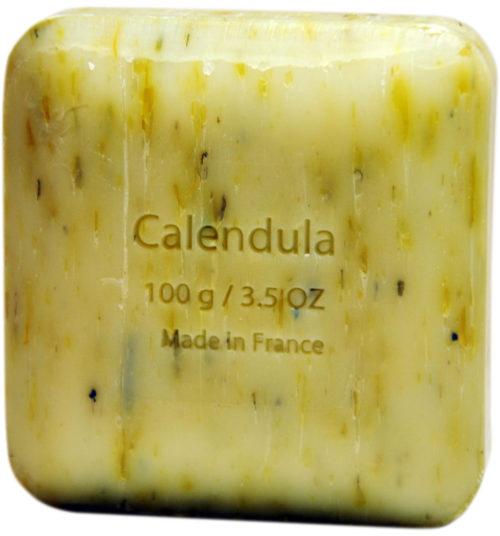 Мыло с цветами календулы Savon du Midi 100g