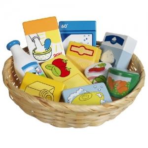 Набор продуктов в корзиночке GOKI, 10 частей