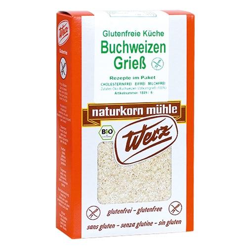 Werz Wholegrain Buckwheat Semolina 250g