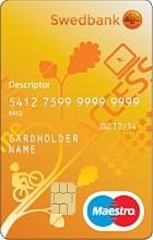 Noortekaart Maestro DK (uus)