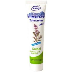 Natur Hurtig Toothpaste with Sage and Himalayan Salt 75ml