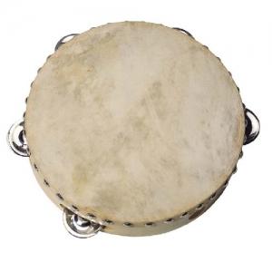 GOKI 5 kuljusega nahast tamburiin