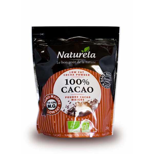 Naturela madala rasvasisaldusega kakao 10-12% 250g