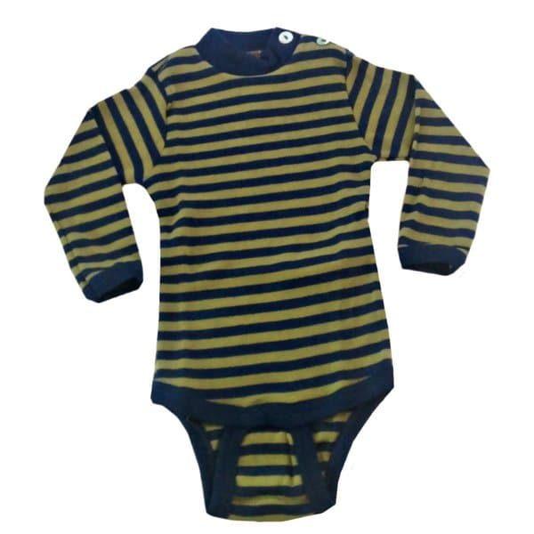 Engel Blue-Green Striped Long Sleeve Body