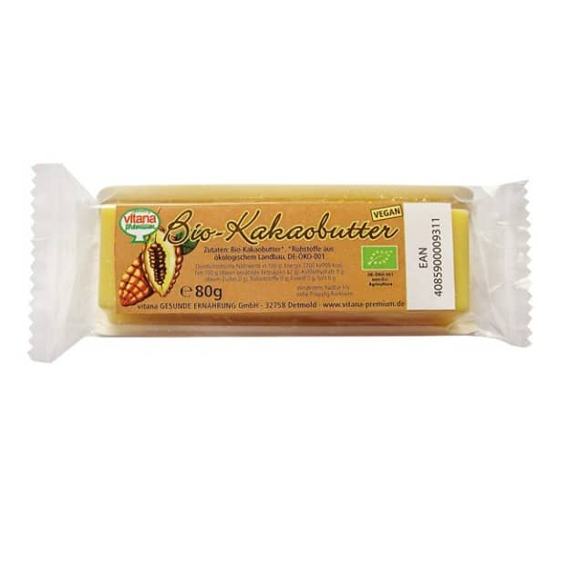 Vitana kakaovõi 100% 80g