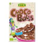 Eden krõbedad maisipallid šokolaadiga