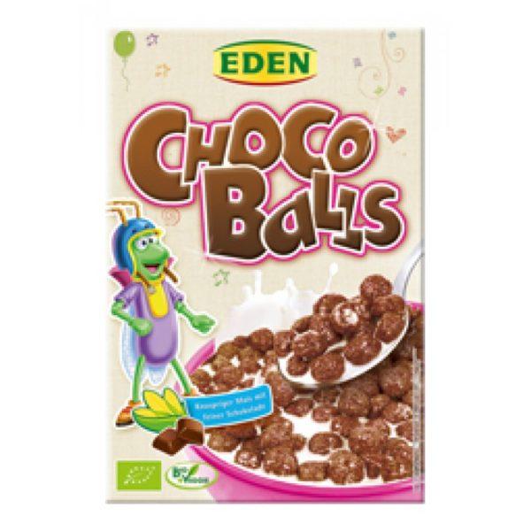 Хрустящие кукурузные шарики с шоколадом Eden 375g