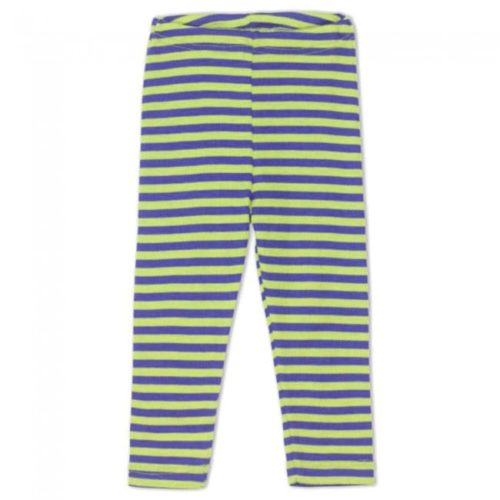 Engel Blue-Green Striped Baby Leggings