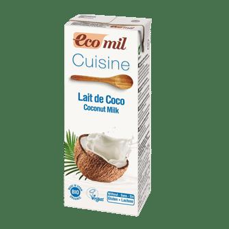 Кокосовые сливки Ecomil 200ml