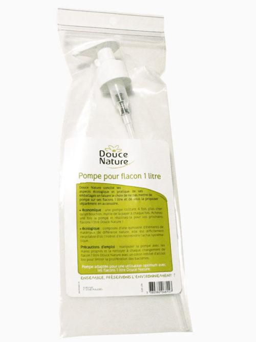 Дозатор на литровые бутылки шампуня и геля для душа Douce Nature