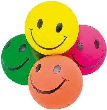 GOKI Smile Rubber Ball 1pc
