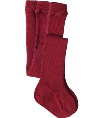 Колготки шерсть/хлопок Living Crafts красные