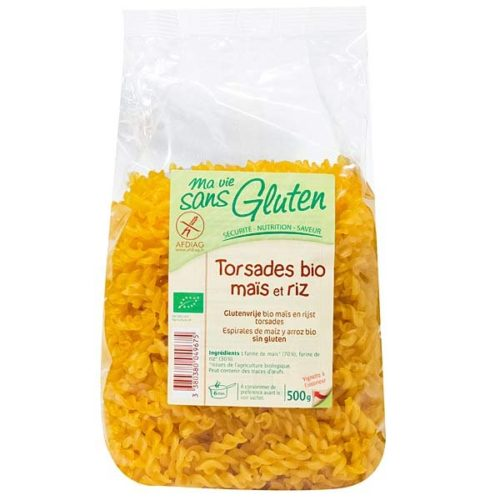 Фузилли из кукурузной и рисовой муки Mavie 500g
