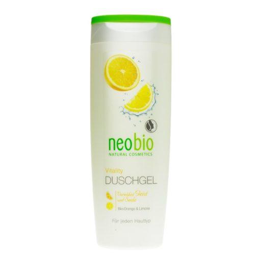 Гель для душа Vitality Neobio 250ml