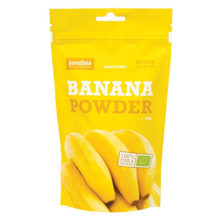 Банановый порошок Purasana 250g