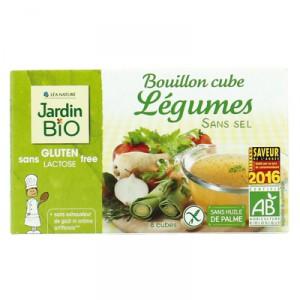 Бульонные кубики овощные без соли JardinBio 8x9g