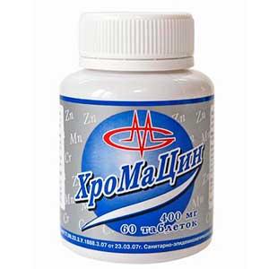 Хромацин Оптисалт 60 таблеток/400mg