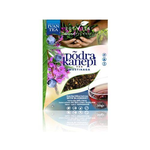 Иван-чай с черникой Estvita 50g