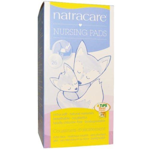 Прокладки для груди для кормящих матерей Natracare 26 шт.
