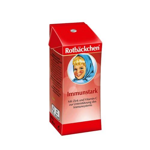 Фруктовый сок с цинком и С-витамином Rotbäckchen 200ml