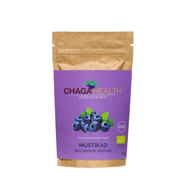 Chaga Health külmkuivatatud mustikad Allan Leppikson / Reval Foto