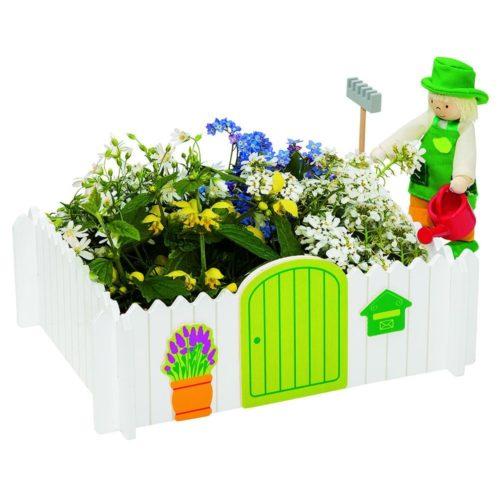 "GOKI Set ""Garden of my own"" with Flexible Puppet Gardener"