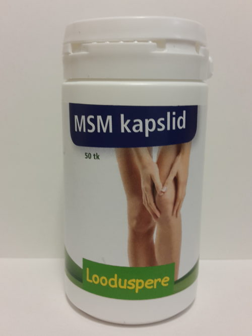 Looduspere MSM Capsules 50pcs