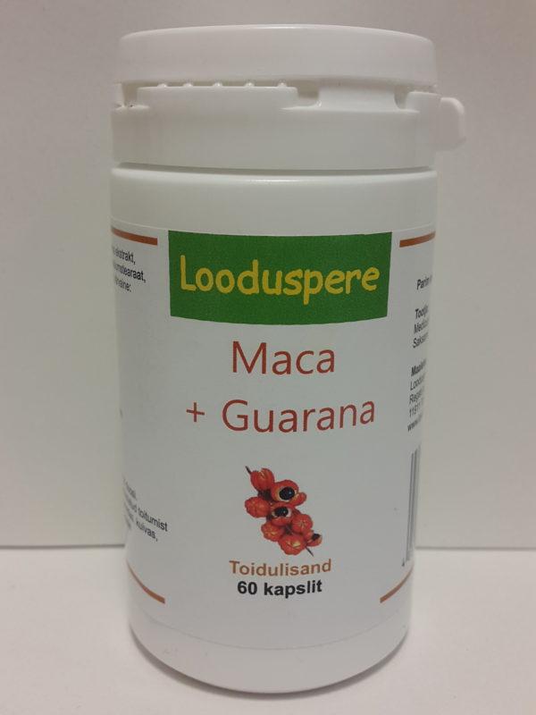 Мака и гуарана в капсулах Looduspere 60шт